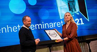 Fikk heder for sin åpenhet til pressen: Flavius-prisen går til Gjerdrum kommune