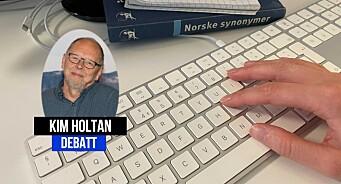 Jo, journalister kan fortsatt skrive norsk