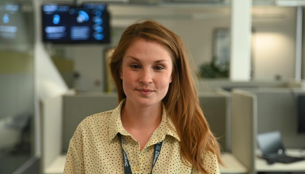Journalist i Bergens Tidende, Aina Fladset.
