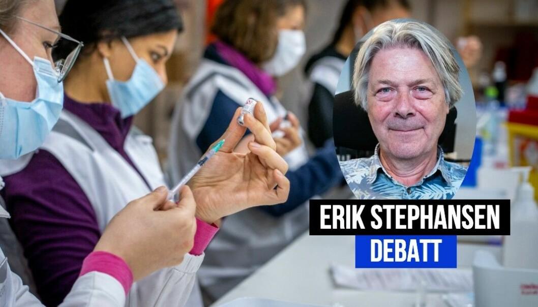 Erik Stephansen forklarer hvorfor de har valgt å avpublisere et debattinnlegg.
