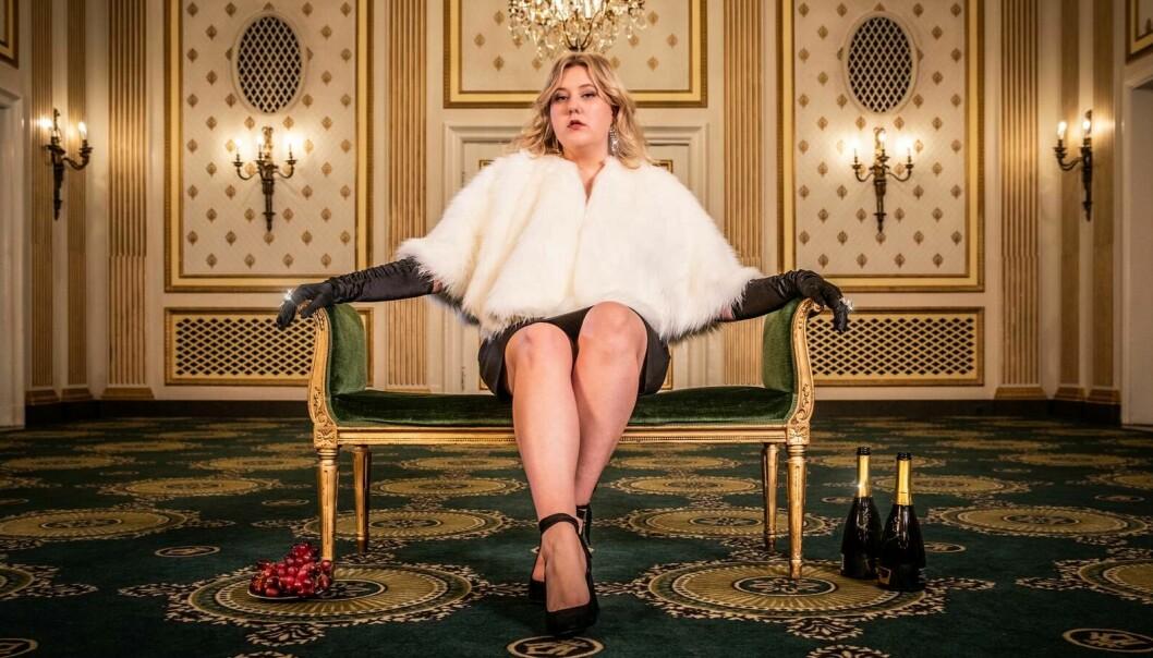 Martha Leivestad, her fra NRK-serien «Martha blir rik».