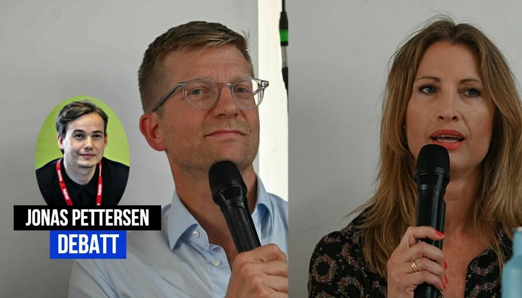 Jonas Pettersen reagerer på fremstillingen av Dagbladet i Svein Tore Bergestuen og Eva Sannums podkast.
