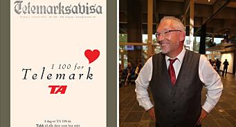 Telemarksavisa feiret 100-årsjubileum: – Nå må vi skjerpe oss