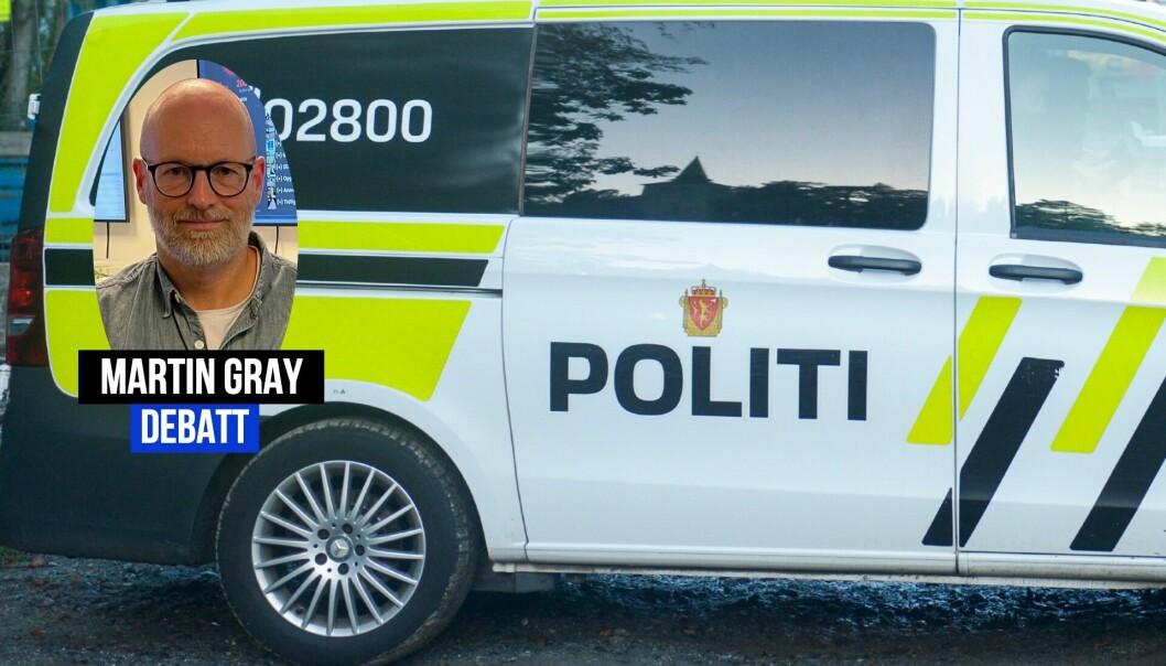 Østlandets Blads Martin Gray har måttet forholde seg til en dobbeltdrapssak på Kolbotn.