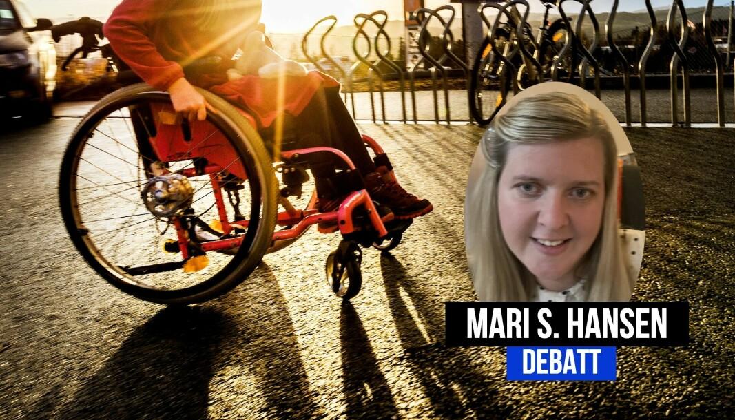 Mari Hansen er frilansjournalist og aktiv for rullestolbrukarars rettar.