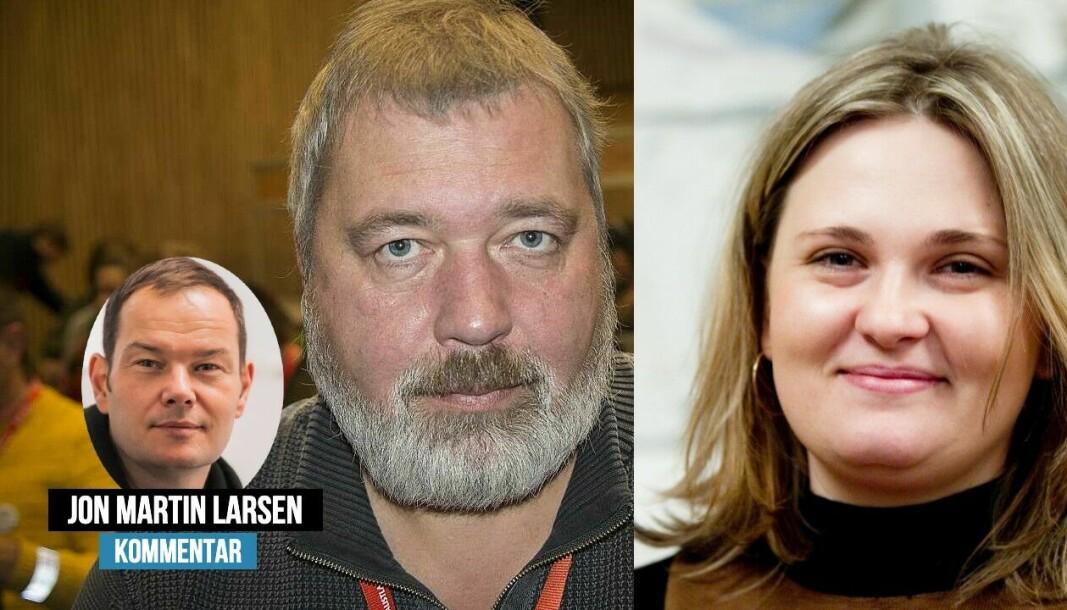 Dmitrij Muratov, Elena Milashina og resten av redaksjonen til Novaya Gazeta skaper viktig journalistikk, skriver Jon Martin Larsen.