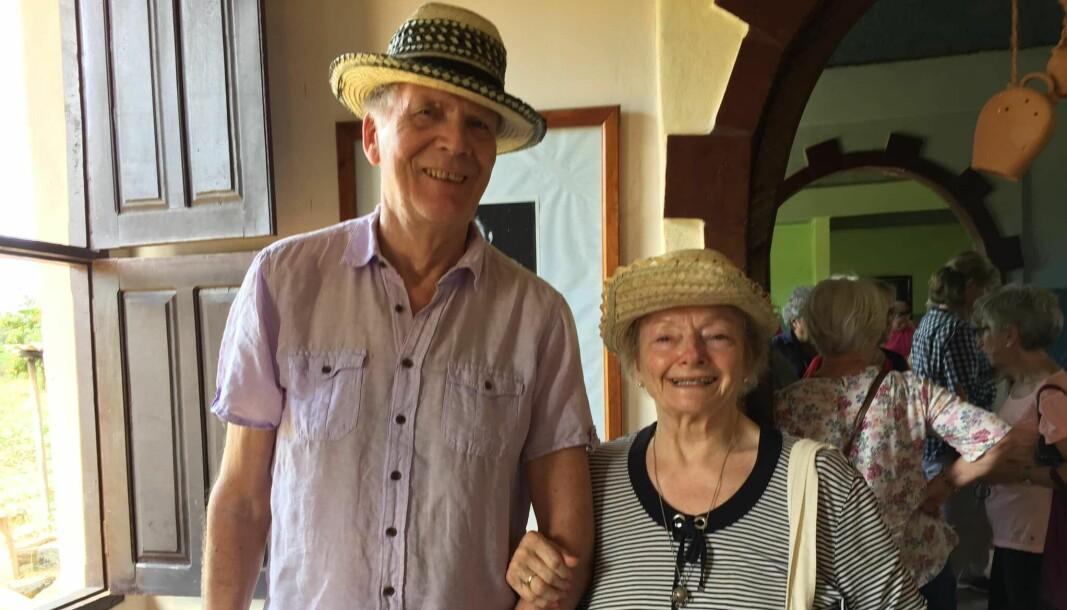 Åsulv Edland og Anne Baggethun på NRK Veteranenes tur til Cuba