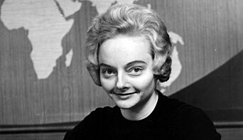 Anne Baggethun, fotografert en gang i 1960- årene.