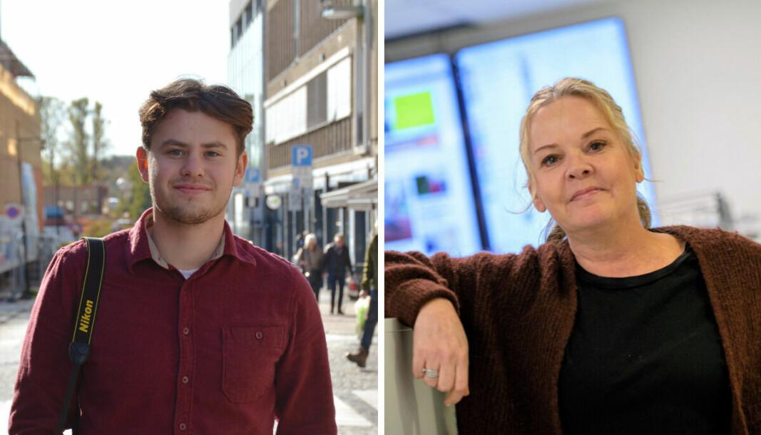 Marcus Røseth Isachsen og Felicia Øystå er nye journalister i Svalbardposten.