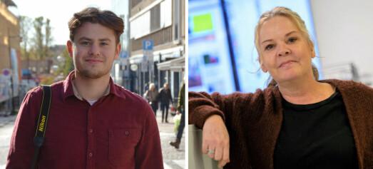 Felicia (52) og Marcus (20) har fått jobb i Svalbardsposten