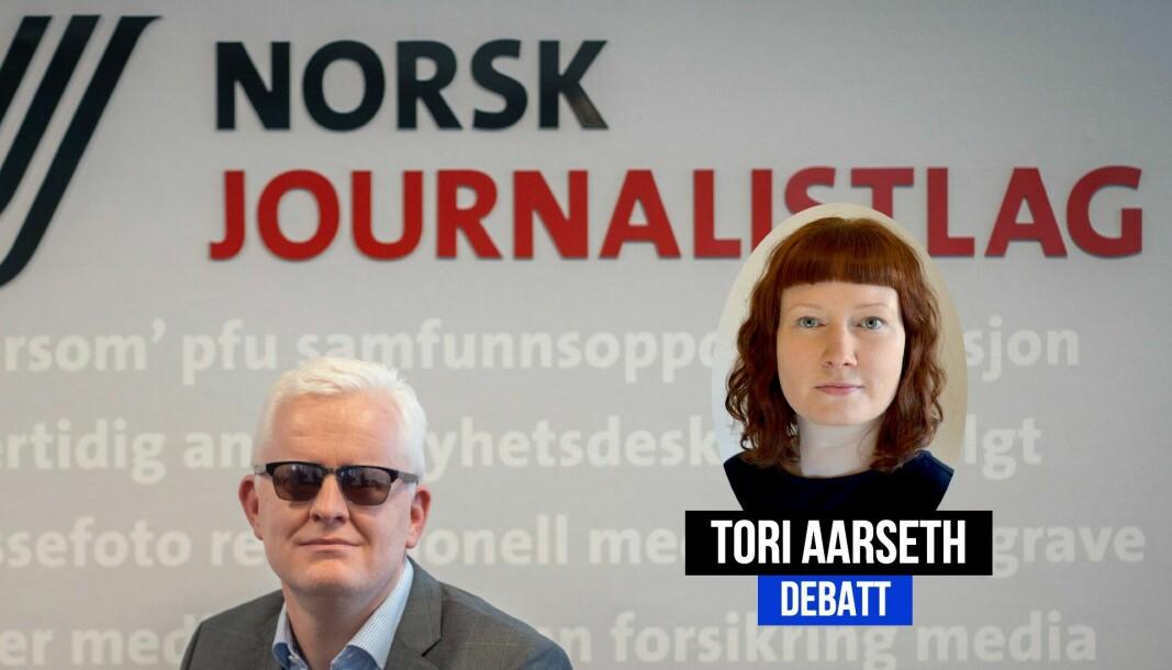 Tori Aarseth svarer Dag Idar Tryggestad i debatten om kildevern