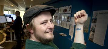 Joachim (32) feirer fast jobb med dette stuntet