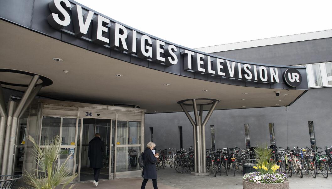 Sveriges Television, SVT og Utbildningsradion, URFoto: Jessica Gow / TT / NTB