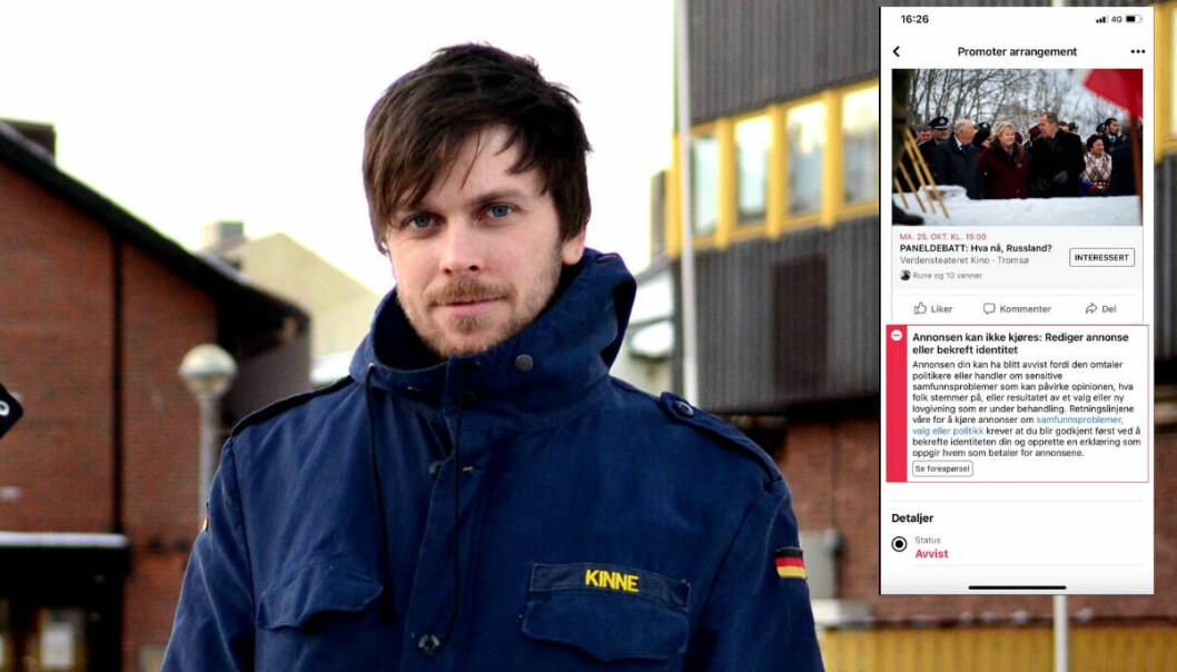 Styreleder Amund Trellevik i Barents Press Norge.