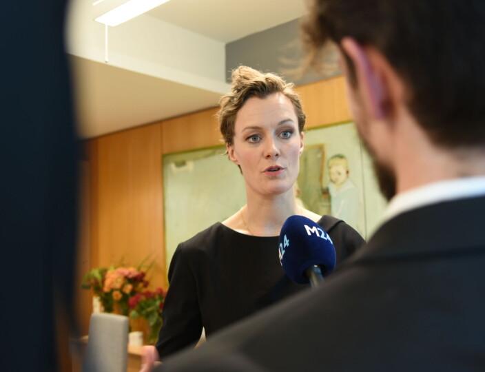 Nå er Anette Trettebergstuen ny medieminister: – Vil være en tilgjengelig og lyttende statsråd