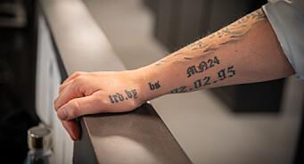 Hver gang Atle starter en ny satsing i Adressa, blir det tatovering på armen