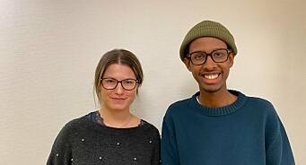 Katrina Zirina er ny leder av NJ Student på Oslomet