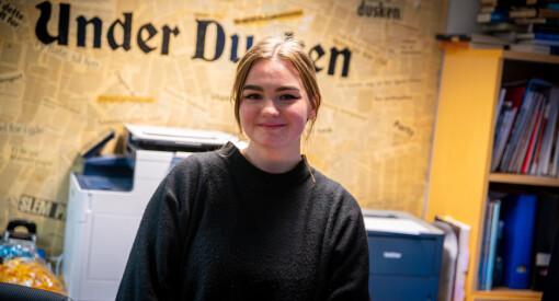 Lea Lauvland Longva (20) blir ny redaktør i Under Dusken