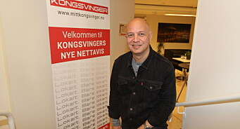 Audun Bårdseth blir ansvarlig redaktør i Mitt Kongsvinger: – Klarte ikke si nei