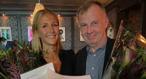 NRKs Tuva Skei Tønset vant journalistprisen til NJ Buskerud - her er alle prisvinnerne