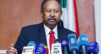 Sudanske soldater har stormet landets TV-bygg