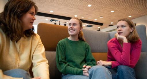 Studentene jubler for nytt mediebygg i Volda: – Man føler seg mye mer proff her