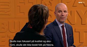 Nytt på nytt harselerte med nordlendingene. Nå har NRK mottatt tosifret antall klager