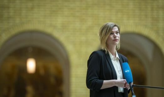 Gjett hvor hun har fått jobb: Jette Christensen går fra politikken til Visindi